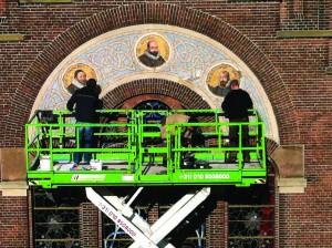 Arminius Kerk – Rotterdam, Olanda. Fase di restauro