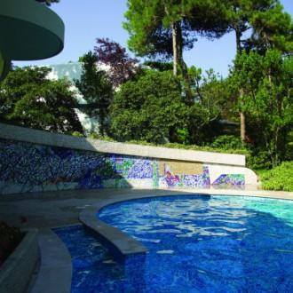 Villa privata, Italia. Bozzetto Giulio Candussio